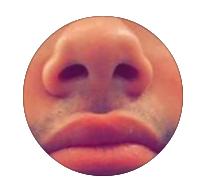Shane's nose