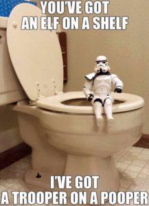 trooper on a pooper