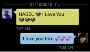 text i love you